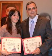Angela Soci y Roque Severino