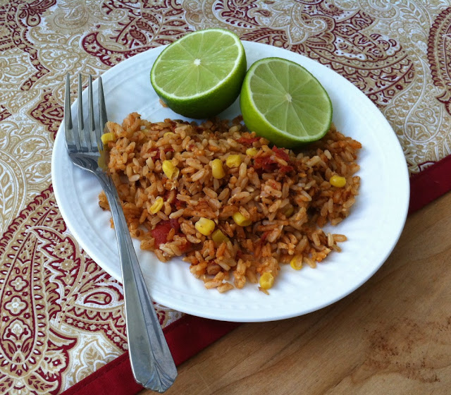 Culinarily Courtney: Spanish Style Brown Rice