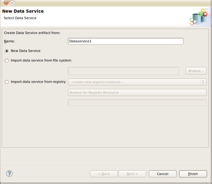 how to create a data registry