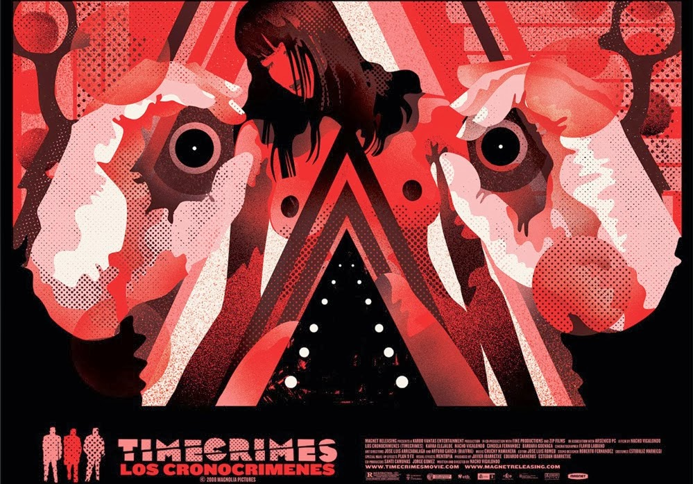 Timecrimes Vinyl Cover & Print by We Buy Your Kids & Mondo
