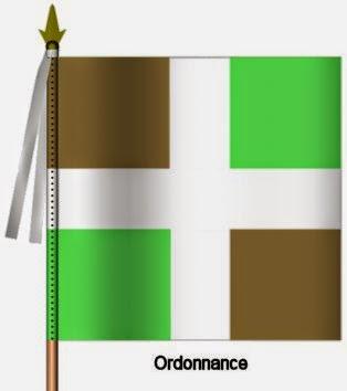 Guyenne Infanterie Ordonnance Flag