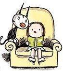 Un sillón es más cómodo con un libro
