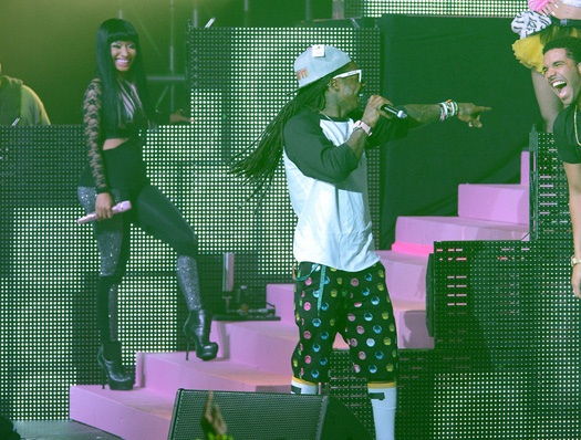 Lil Wayne no Show Pepsi Live For Now