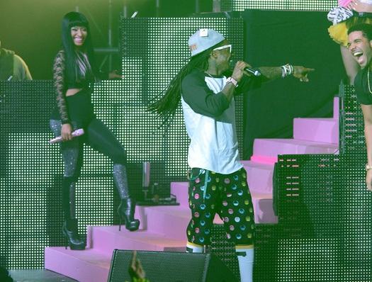 Lil Wayne no Show Pepsi Live For Now