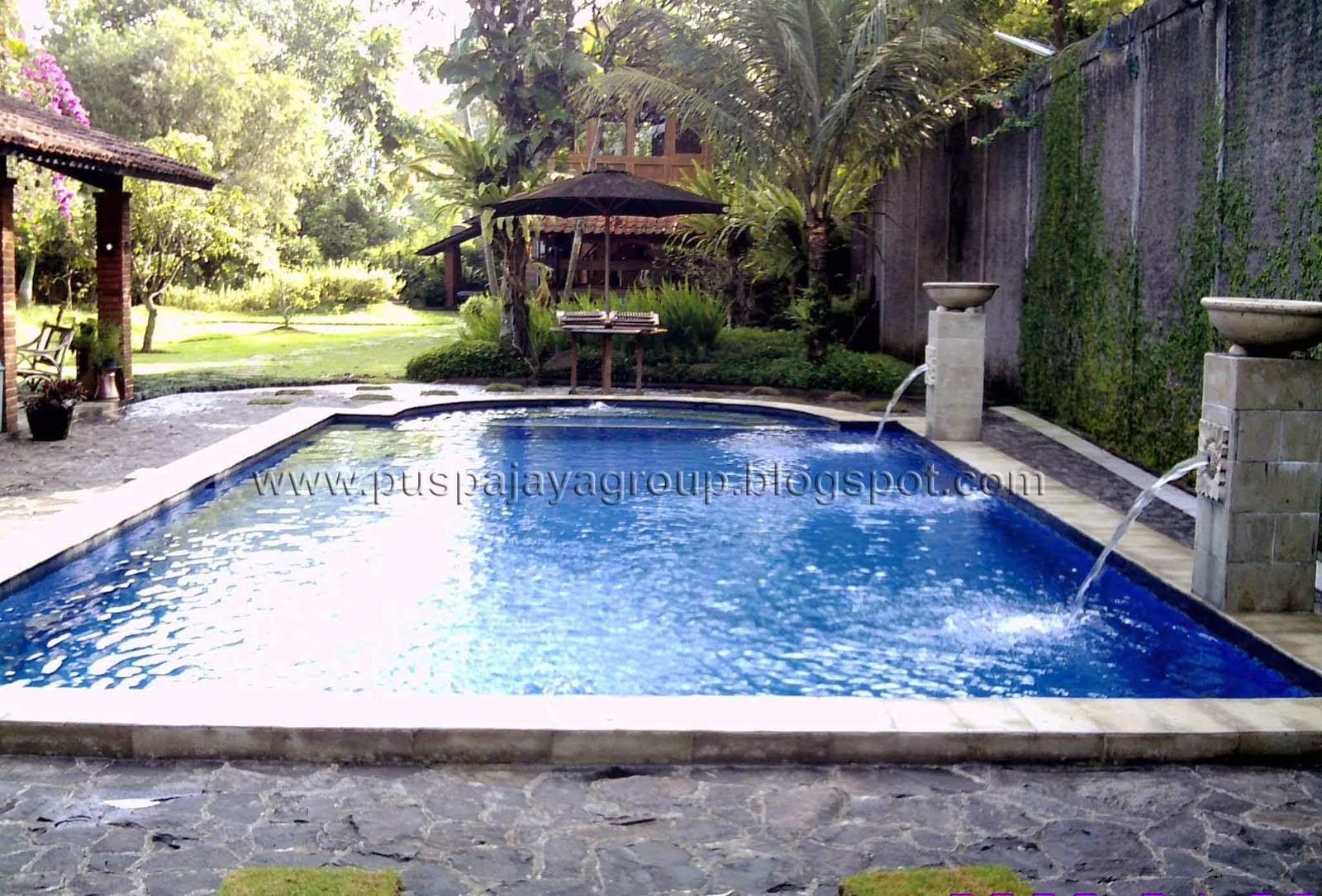 desain kolam renang minimalis desain properti indonesia