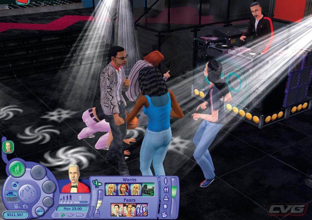 2 game nightlife sims: