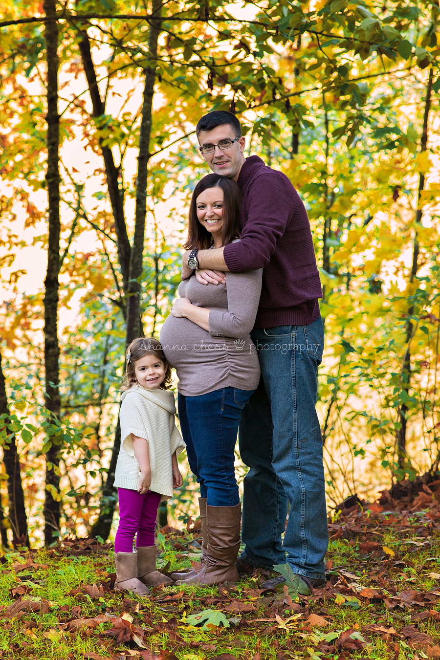 eugene springfield or maternity family photography
