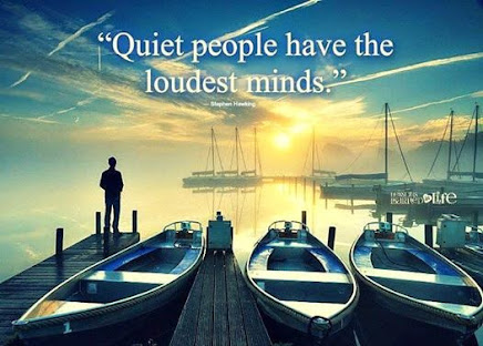 Listen to the QUIET people.  When they speak,  people LISTEN!