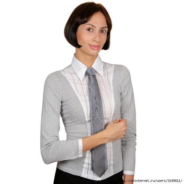 Переделать Мужскую Рубашку В Блузку