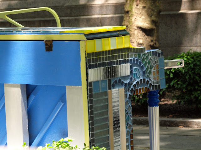 Mosaic Piano, #SFHpianos, Bryant Park, NYC