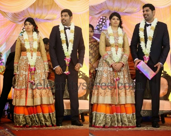 Ajay Ratnam Daughter in Law Reception