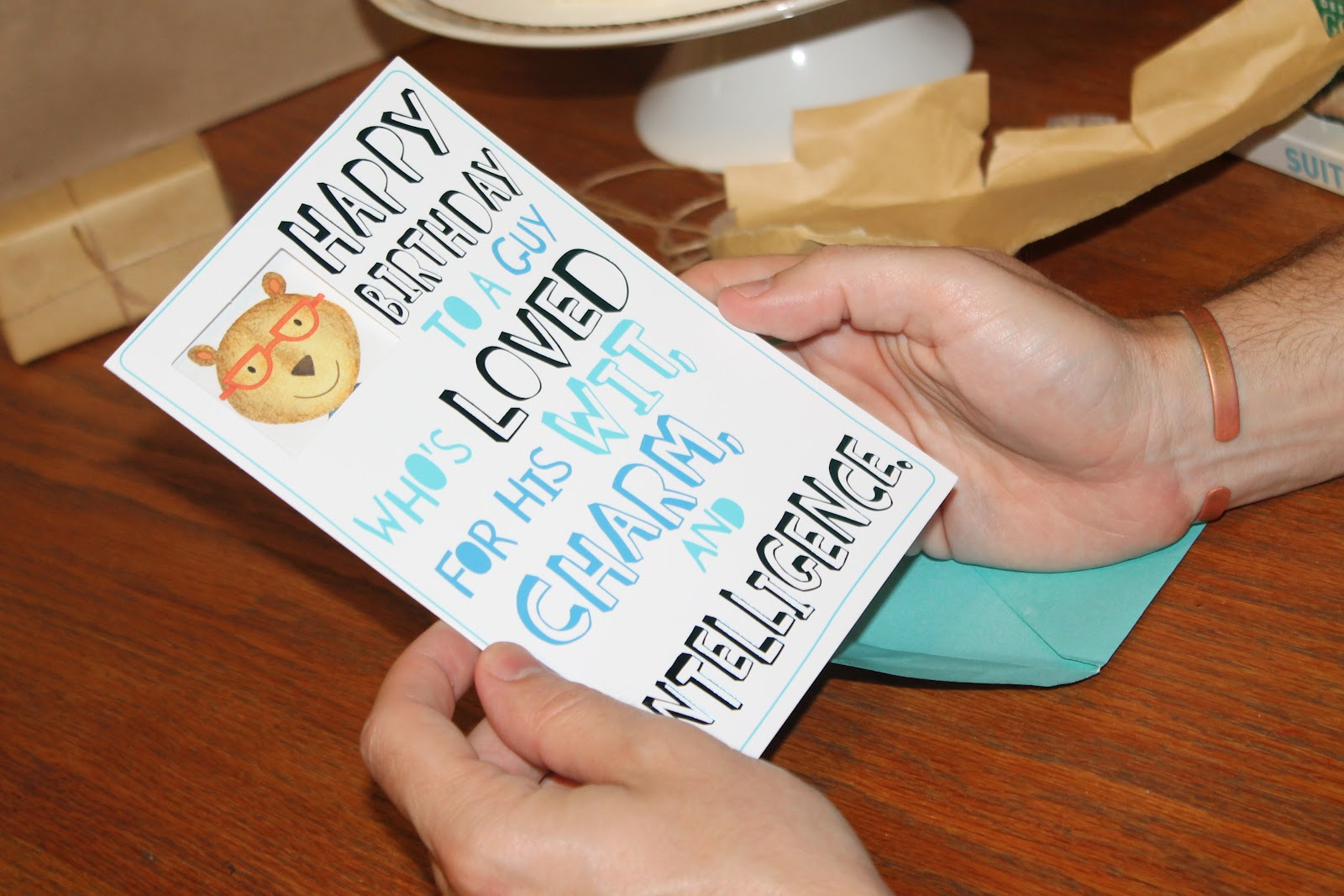Carolina Charm Matts 32nd Birthday – Target Birthday Cards