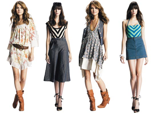 Fashionable Clothes Shoes Jeans Lipsticks Nail Polish And Many More Charming Clothes