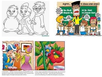 Pengertian Kartun, Karikatur Dan Cergam