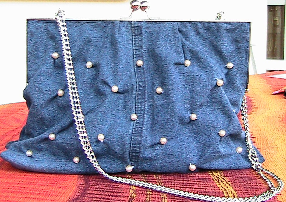 Idee Tricot: Borse in jeans