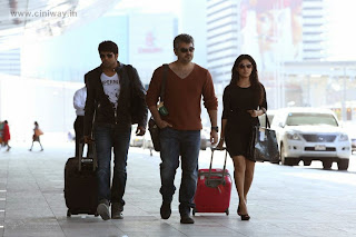 Ajith, Arya and Nayanthara in Aarambam