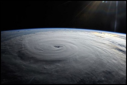 imagem vista do espaço