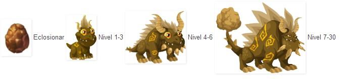 Niveles Del Dragon Tierra En Dragon City