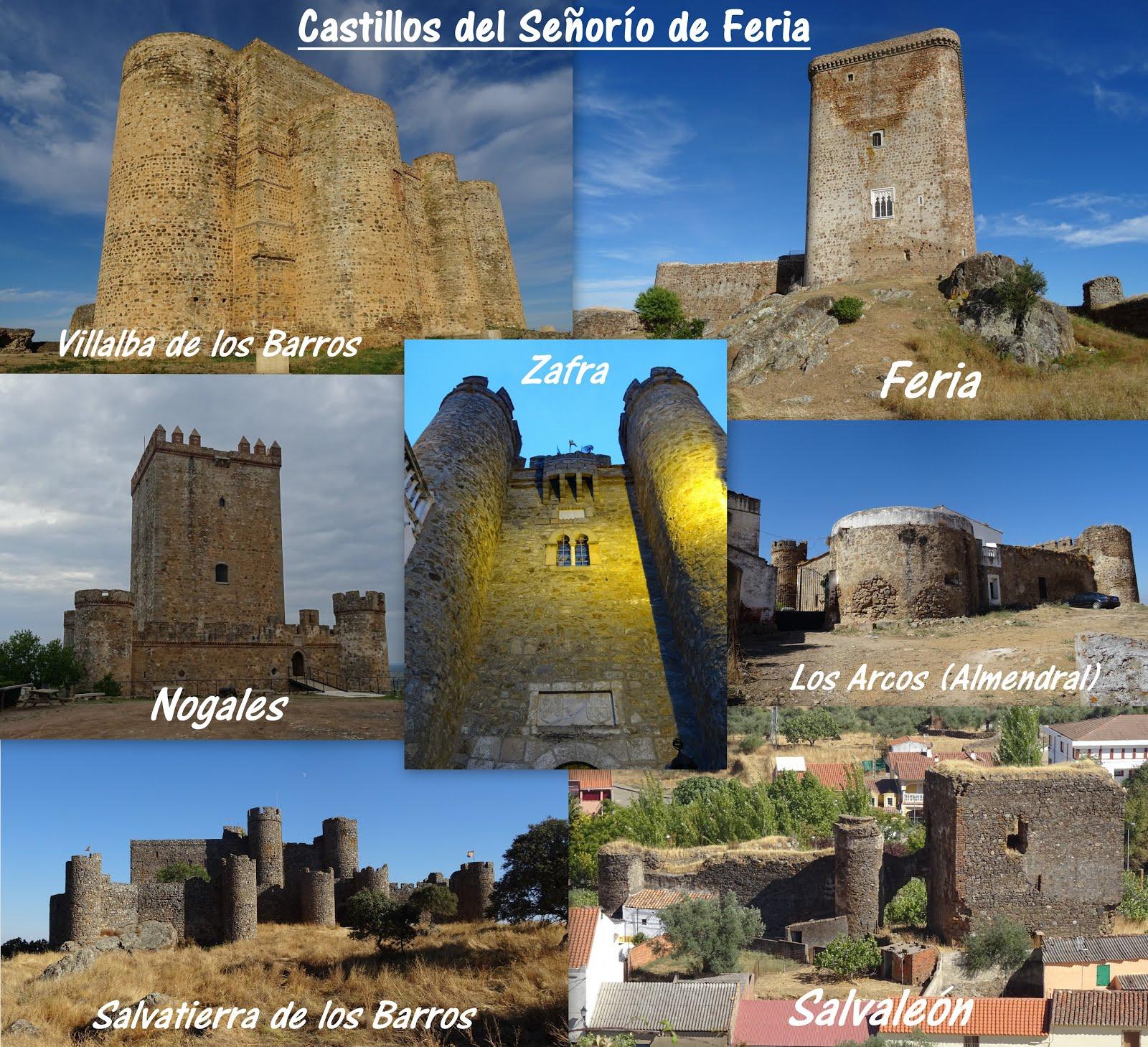 Castillos del Señorío de Feria