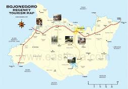 Peta Wisata Bojonegoro