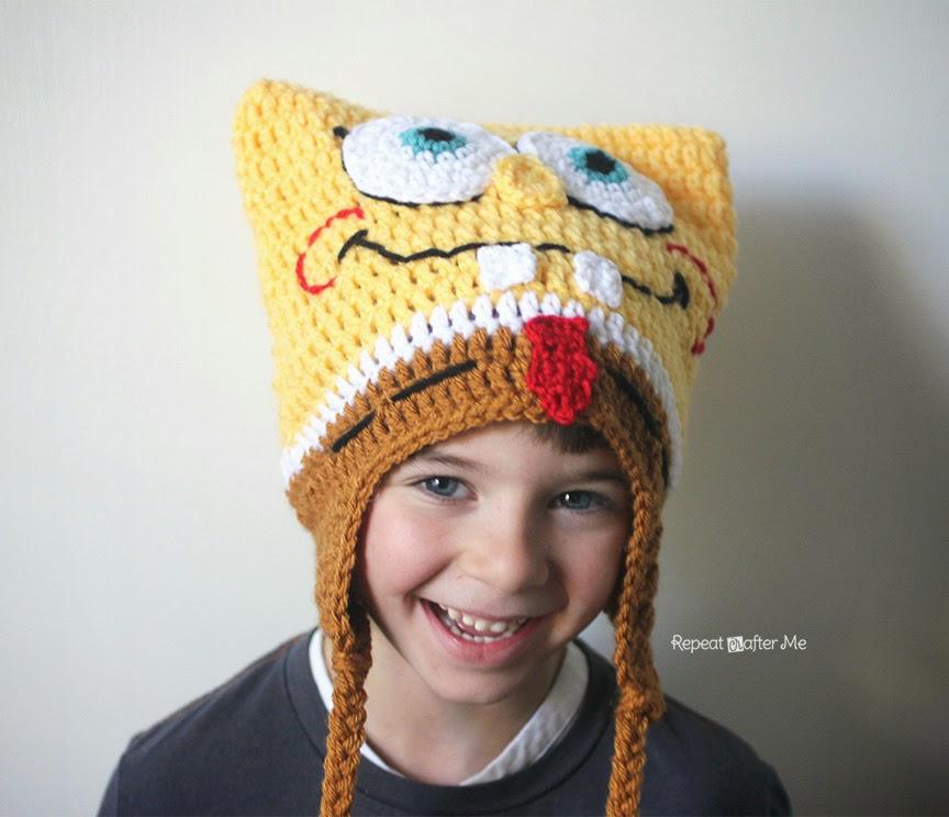 Crochet Bob The Square Sponge Hat Repeat Crafter Me Bloglovin