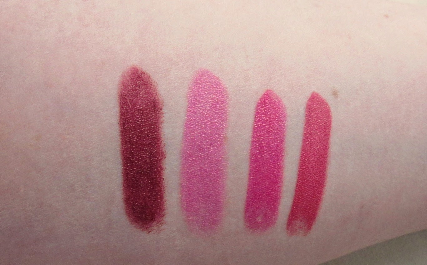 makeup rumours lipstick swatches