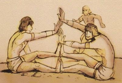 رياضة القفز أيضا فى الألعاب الراقصة