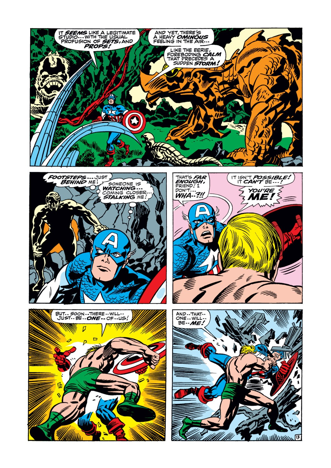 Captain America (1968) Issue #106 #20 - English 14