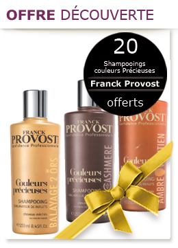 20 shampooings Franck Provost