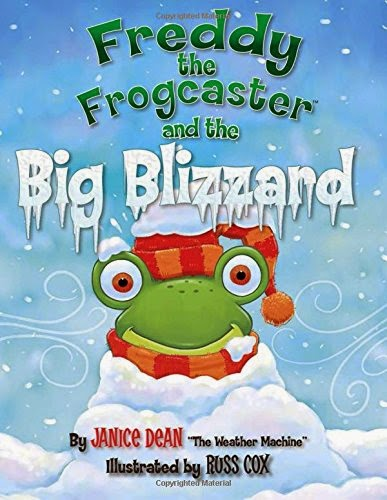 Freddy the Frogcaster and the Big Blizzard cover