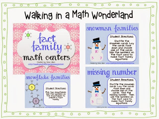 http://www.teacherspayteachers.com/Product/Winter-Fact-Families-Math-Centers-424358