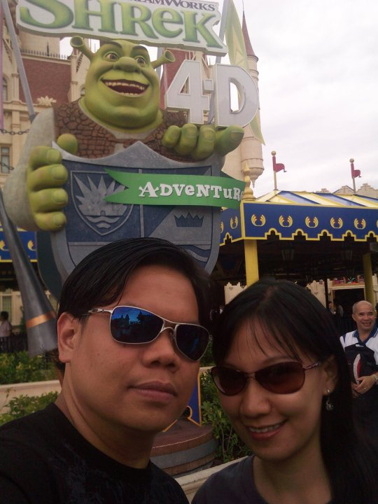 Universal Studios Singapore Shrek 4D