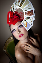 Hats I have Created In My Atelier: Moulin Rouge.