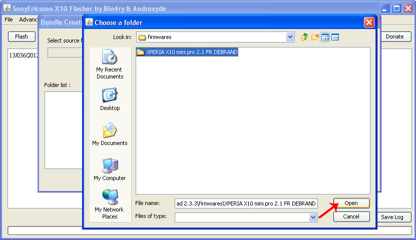 Flashing Sony Ericsson Xperia Menggunakan Flashtool