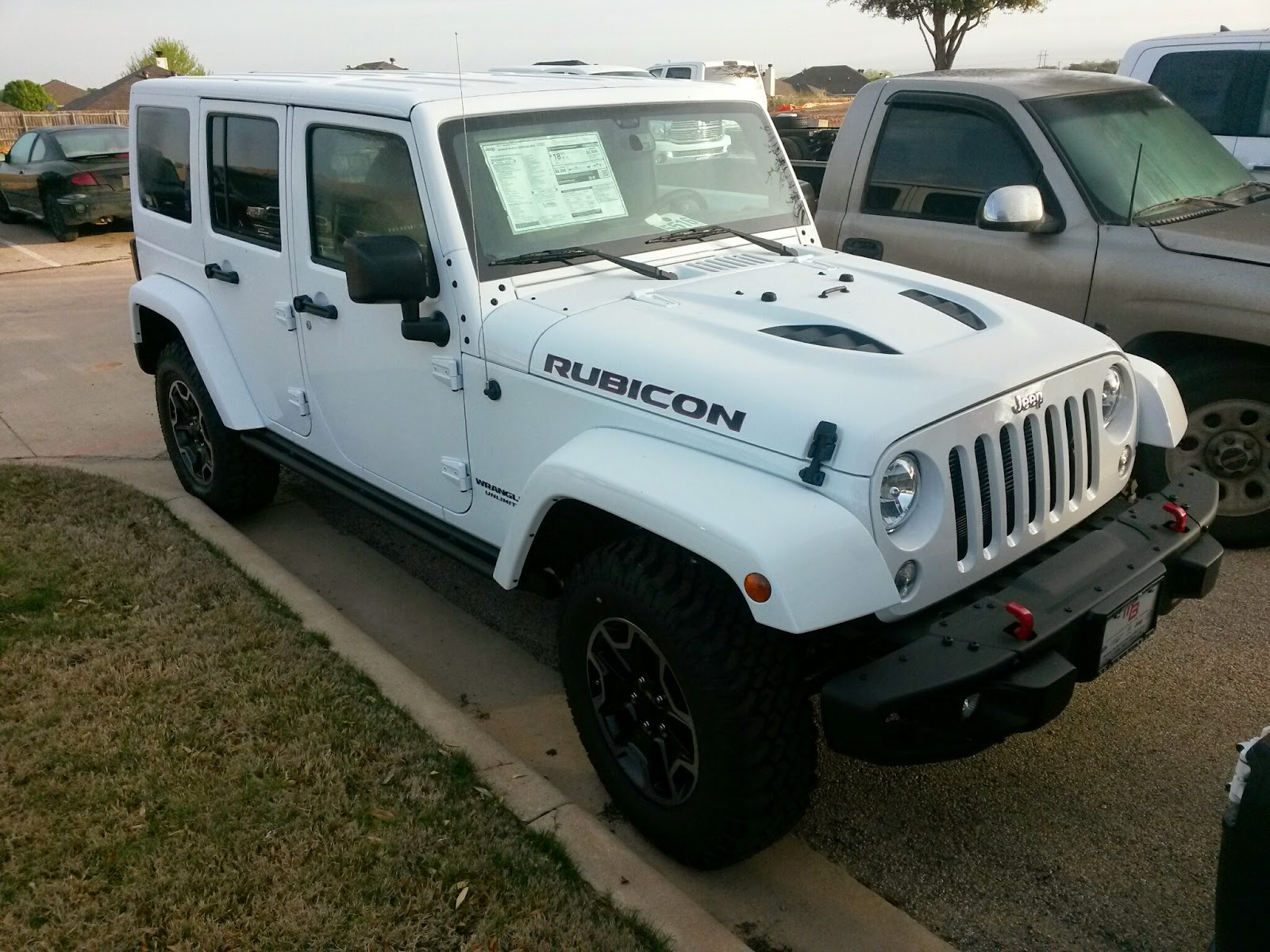 TDY Sales 817 243 9840 — New 2015 Jeep Wrangler Unlimited Rubicon