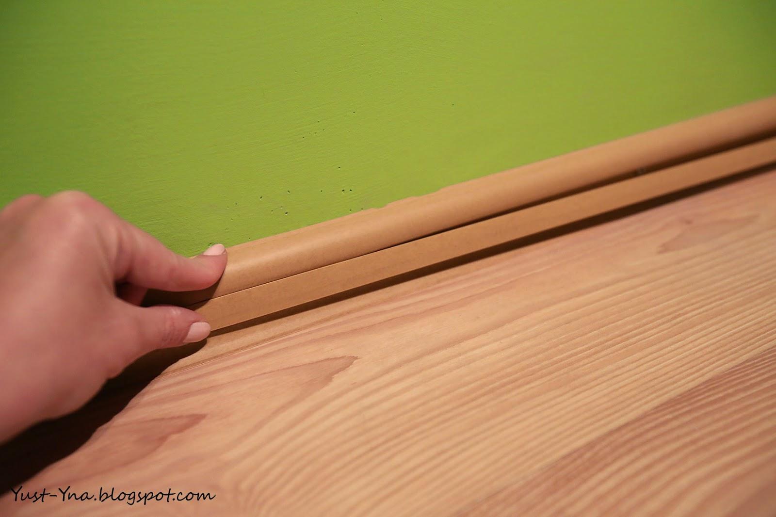 Montowanie listw wykończoniowych panele