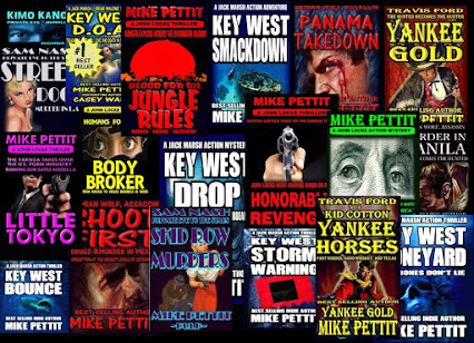 ACTION MYSTERY NOVELS BY MIKE PETTIT