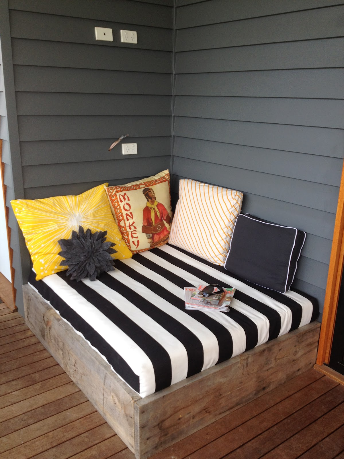 apprentice extrovert diy outdoor day bed reveal ForDiy Patio Bed