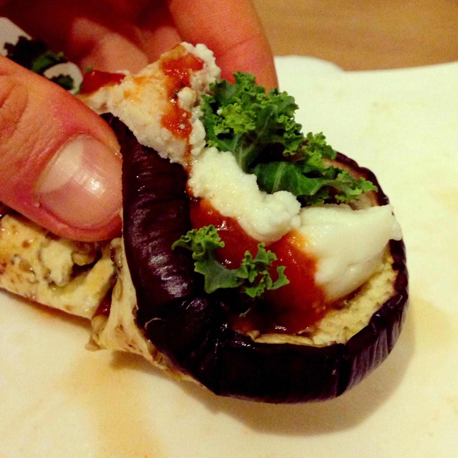 Italian Roasted Eggplant Tacos