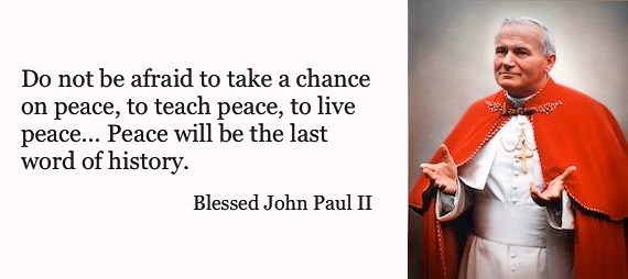 Pope John Paul Ii Quotes Inspiration Catholic News World  Top 10 Saint John Paul Ii Quotes To Share