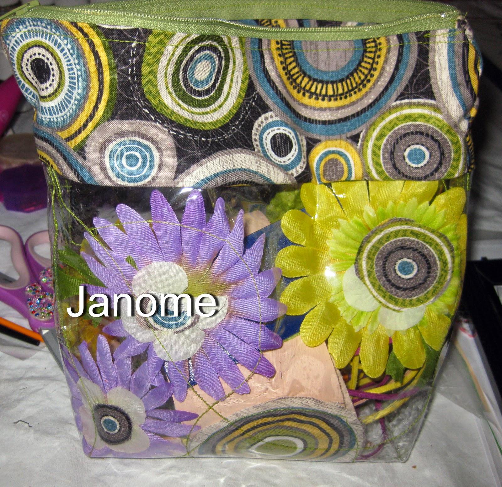 Roberta Birnbaum Janome sewn bag