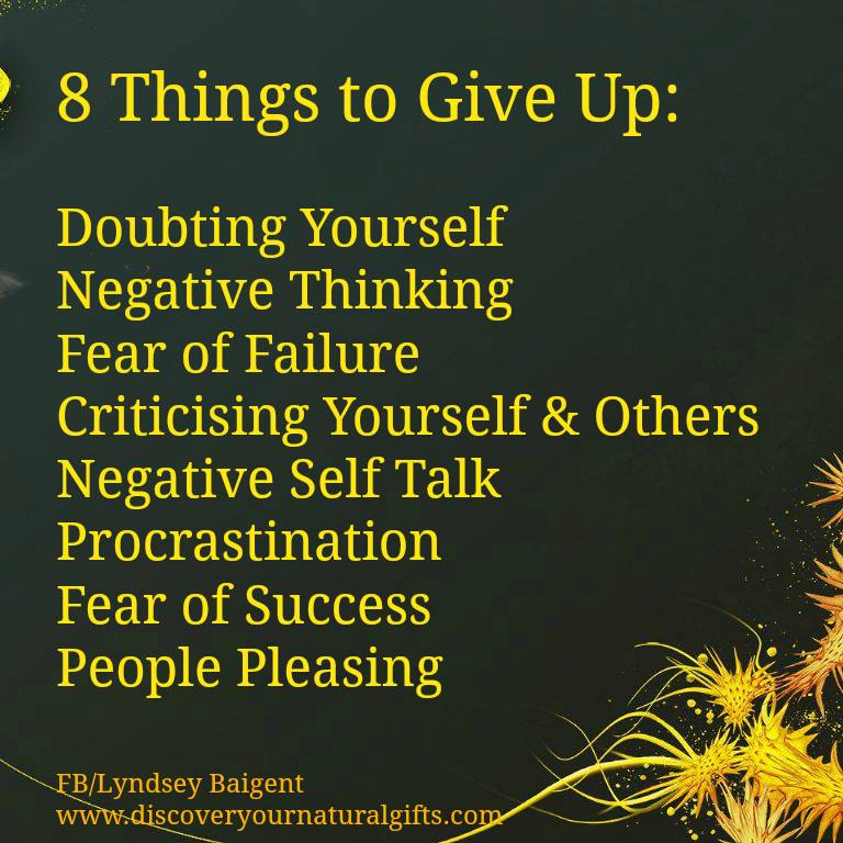 bards and tales 8 things to give up