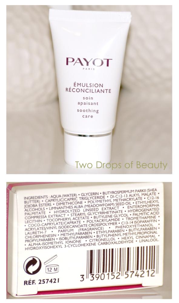 крем, эмульсия, Payot, чувствительная кожа