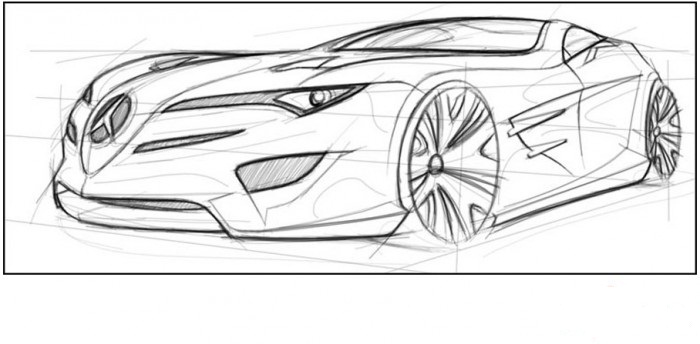 Draw a car in Adobe Photoshop : Brobas