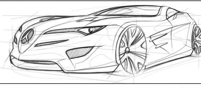 Drawing Lines With Qt : Draw a car in adobe photoshop brobas