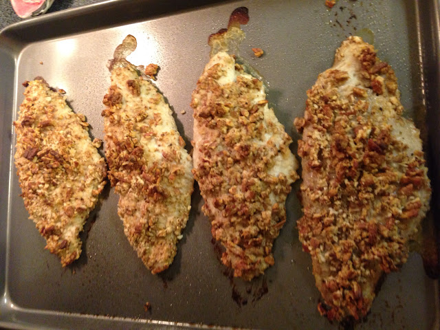 Recipe: Pecan Crusted Catfish {+Giveaway} - Helene in Between