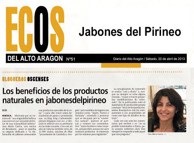 Jabones del Pirineo Entrevista