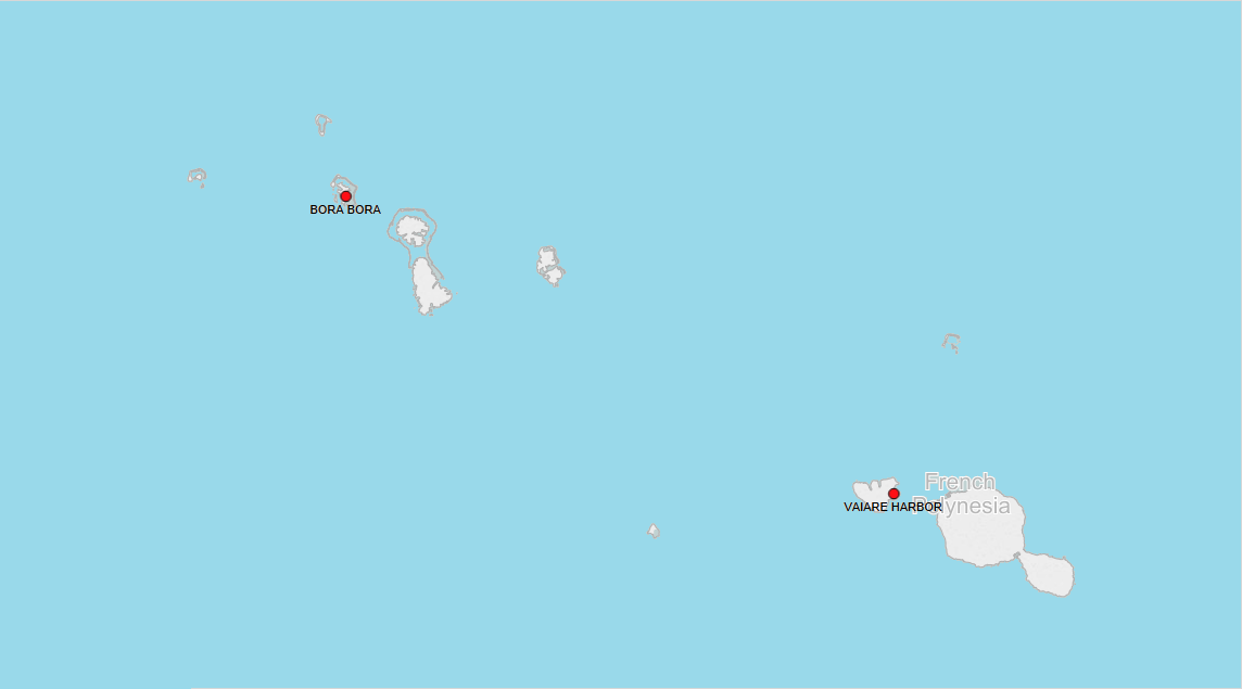 PORTS IN FRENCH POLYNESIA