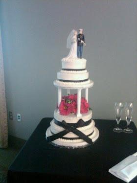 Military Wedding Cake