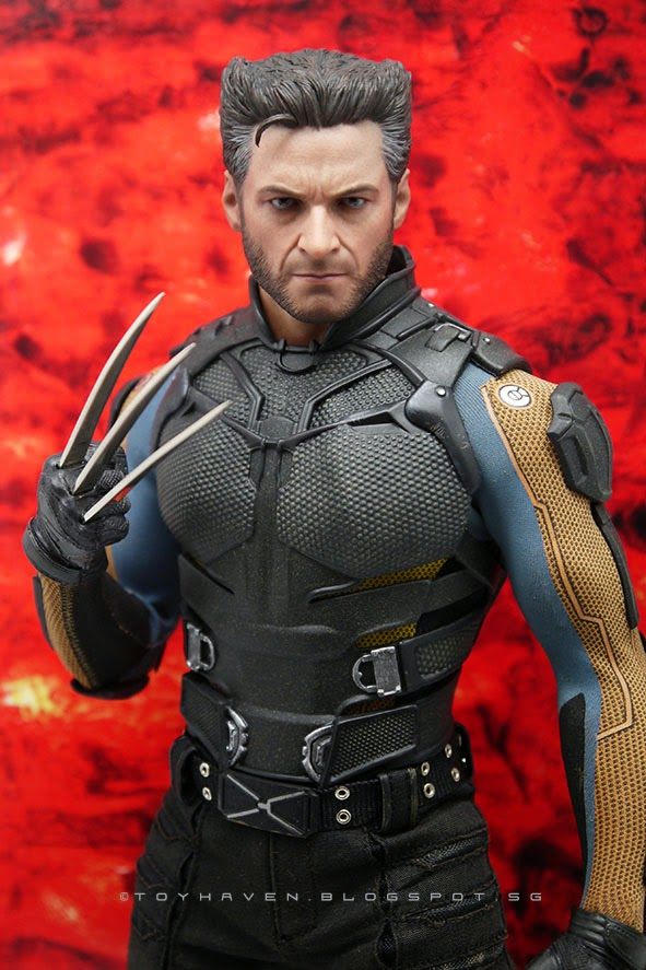 Review 1 Hot Toys MMS264 X Men Days Of Future Past 6th Wolverine 12 Inch Figure